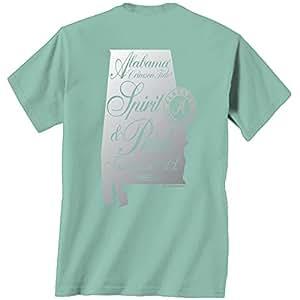 Alabama crimson tide t shirt spirit pride for Mint color t shirt