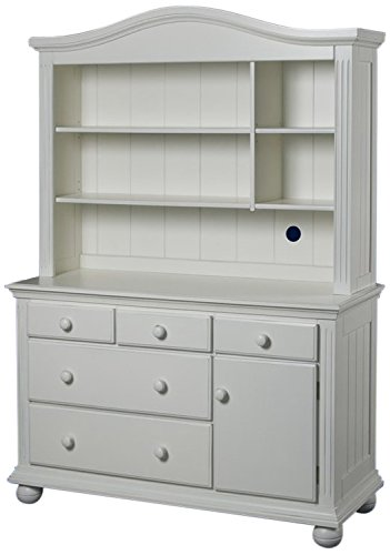 Sorelle Vista Combo Hutch, French White - 1
