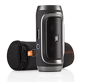 JBL Charge Portable Wireless Bluetooth Speaker (Black Shadow)