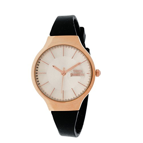 ladies-think-positiver-model-se-w31-classic-rose-strap-of-silicone-color-black