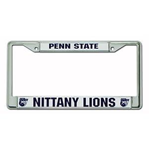 NCAA Penn State Nittany Lions Chrome License Plate Frame