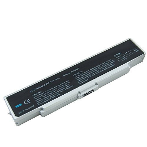 Click to buy Sony Vaio VGN-N220E/W TechRover™ Max-Life Series 6 cell [silver] Replacement Battery - From only $89.95