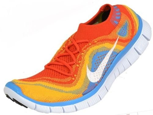 Nike Men's Free Flyknit+ Running Shoes AUTHENTIC