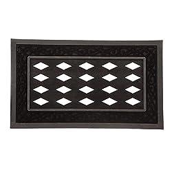 1 X Black Doormat Tray