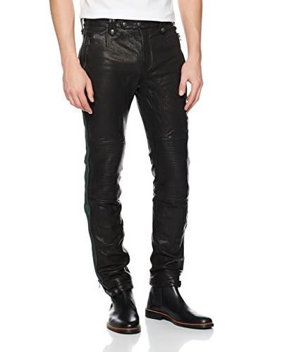 Goodwood Pantalone Pelle Matchless  [Nero]