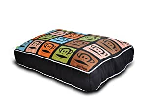 Paul Frank Dog Bed Julius TV, Black, King
