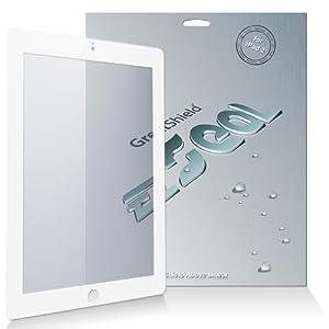"GreatShield ""EZseal Plus"" 100% Bubble Free Guaranteed Anti-Glare (Matte) Screen Protector Film Mask for ""The New iPad"" 3rd Gen, Apple iPad 2, iPad 3 3rd Generation, iPad HD AT&T Verizon 4G LTE (White)"