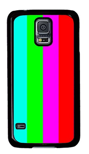 E-Luckiycase Pc Hard Shell Tv Test With Black Skin Edges For S5 Samsung Galaxy Case