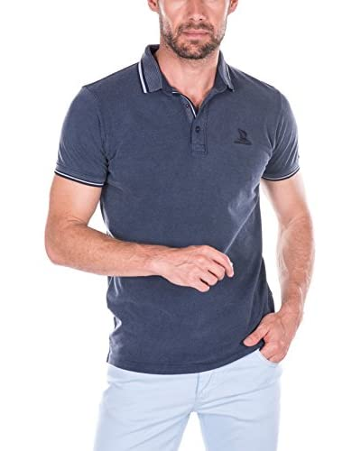Giorgio Di Mare Polo Azul Marino
