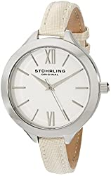 Stuhrling Original Women's 975.01 Vogue Analog Display Quartz Champagne Watch