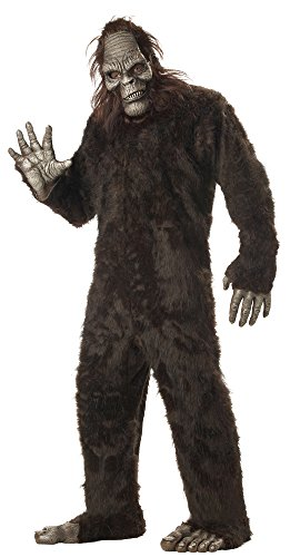 California Costumes Men's Plus-Size Big Foot Suit Costume In Plus, Dark Brown, Plus Size
