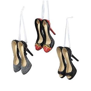 Christmas Tree Shoe Ornaments - Shoeaholics Anonymous Shoe ...