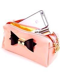 HOMIES INTERNATIONAL Cute Premium Smart, Stylish Bow Design Multi-Purpose Bags, Clutch, Purse, Wallet For Teenagers...
