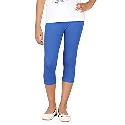 BELONAS Girl's Royal Blue Capris