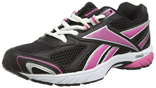 ReebokPheehan Run - Scarpe Running donna, Nero (Black (Syn Black/Cosmic Berry/White/Pure Silver)), 38.5 EU