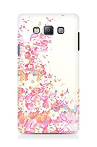 Amez designer printed 3d premium high quality back case cover for Samsung Galaxy A7 (Colors lines patterns light)