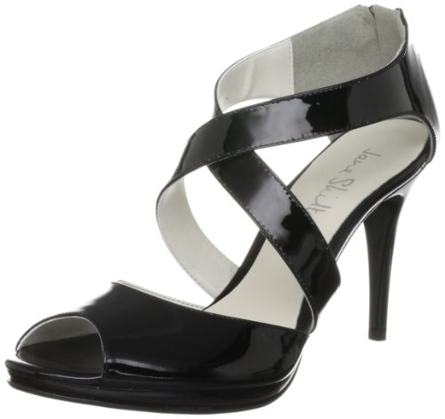 Jane Shilton Women's Pimlico Black Open Toe 65735 4 UK