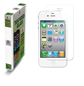 Tempered Glass Screen Scratch Protector Guard for Apple Iphone 4/4S