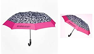 Victorias Secret 2012 Supermodel Limited Edition Umbrella Black White Pink from Victoria's Secret