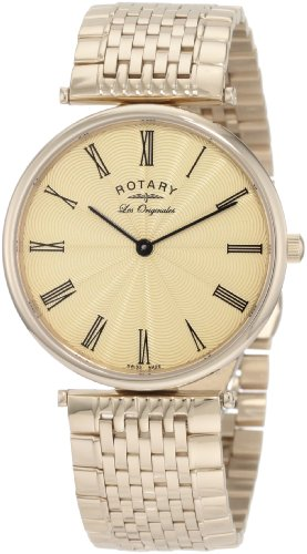 See Rotary Men's GB90002/45 Les Originales Classic Bracelet Swiss-Made Watch Details