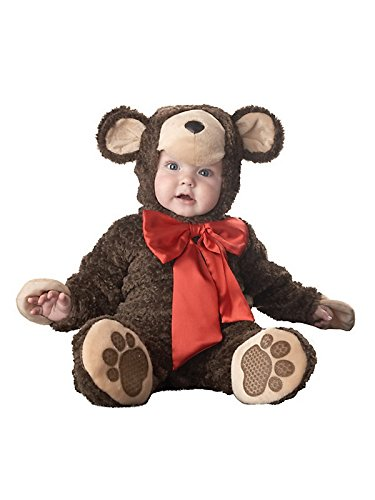 [Dressing Up & Costumes- Lil Teddy Bear Infant/Toddler Elite Costume (Size 12-18 Months) -] (Lil Teddy Bear Costume)