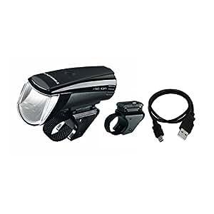 Trelock Beleuchtung LS 750 I-go Ion 30 FB ZL 800 Usb Batteriefrontschweinwerfer, Black, 8002400