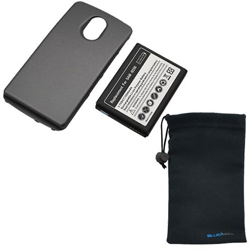GTMax Extended Battery with Cover + Microfiber Pouch Case for Samsung Galaxy Nexus i9250