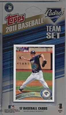 2011 Topps Limited Edition San Diego Padres Baseball Card Team Set (17 Cards) - Not Available In Packs!!