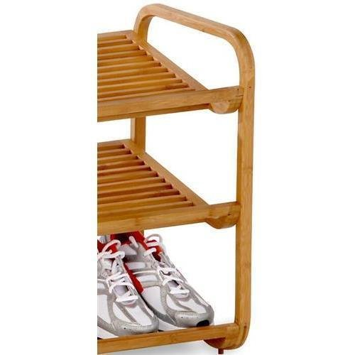 Honey-Can-Do SHO-01599 Bamboo 3-Tier Shoe Shelf (Wooden Shoe Racks compare prices)
