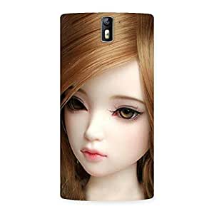 Lovely Doll Back Case Cover for One Plus One