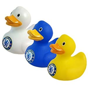 Chelsea Fc. 3Pk Mini Duck Set