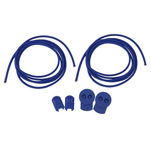 Lacci Di Scarpe Elastica Laccio In Esecuzione Ciclismo Shoestring - Blu Reale