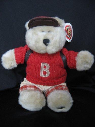 41gRdgNU2HL Cheap Price 2002 Starbucks Bearista 10 Plush School Boy Bear