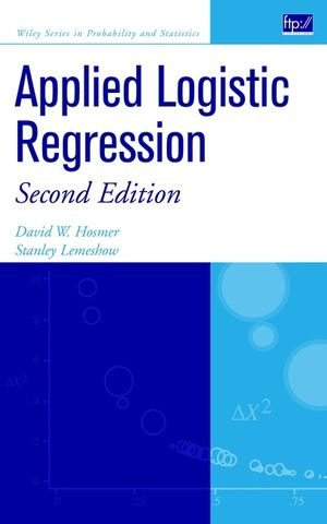 Applied Logistic Regression (Wiley Series in Probability...