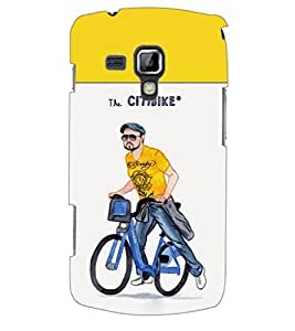 ColourCraft Boy Back Case Cover for SAMSUNG GALAXY S DUOS S7562