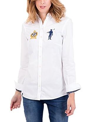 Polo Club Camisa Mujer Rigby Brand Sra (Blanco)
