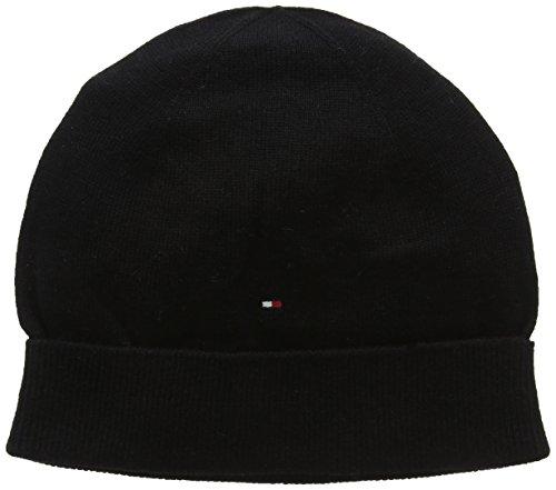 Tommy Hilfiger Anna Basic Hat, Berretto a Maglia Donna, Nero (Masters Black 017), Taglia Unica