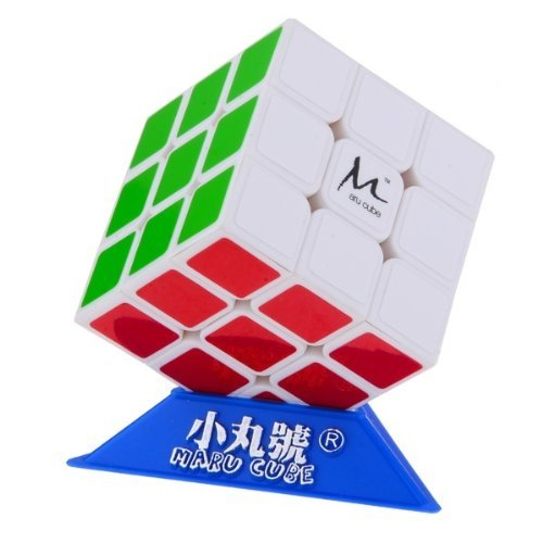 MARU CX3 3x3x3 3x3 White Speedcube Puzzle