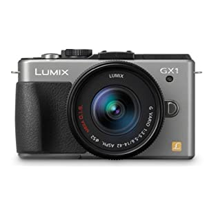 Panasonic Lumix DMC-GX 16 MP Micro 4/3 Compact System Camera with 3-Inch LCD Touch Screen $499.99