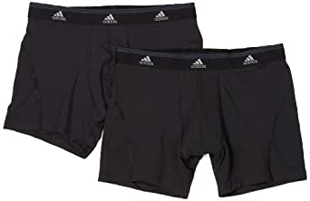 adidas Mens Sport Performance Climalite 2-Pack Trunk by adidas