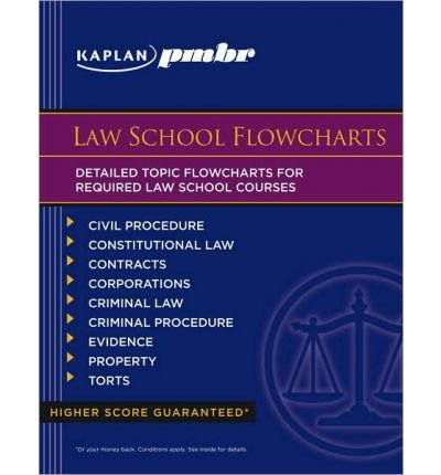 [ { { Kaplan PMBR: Law School Flowcharts } } ] By Kaplan( Author ) on Nov-03-2009 [ Paperback ]