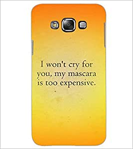 PrintDhaba Quote D-4407 Back Case Cover for SAMSUNG GALAXY GRAND 3 (Multi-Coloured)