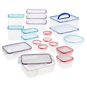 Snapware Total Solution Food Storage Set, Plastic, 38-Piece