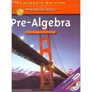 glencoe pre algebra teacher edition pdf