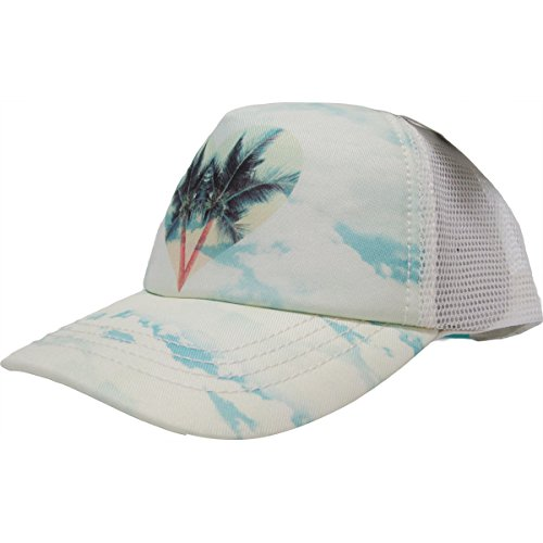 Billabong Girls' Reaching Out Trucker Hat, Fiji Blue, One Size