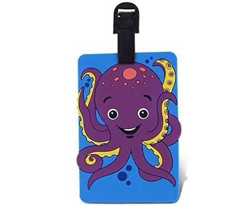 WeGlow International Fun Luggage Tag - Octopus