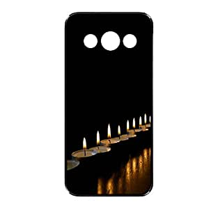 Vibhar printed case back cover for Samsung Galaxy A3 TTLights