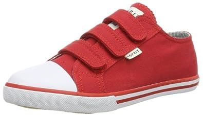 ESPRIT  Timmy Tape, Peu mixte enfant - Rouge - Rot (caravan red 608), 30 EU