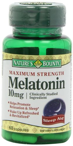 Natures-Bounty-Maximum-Strength-Melatonin-10mg-Capsules-60-Count
