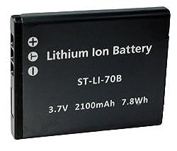 Replacement Battery Olympus LI-70B for VG-110, VG-120, VG-130, VG-140, FE4020,FE-4020, FE-4040, X-940